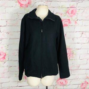 Express classic zipper front waist length jacket